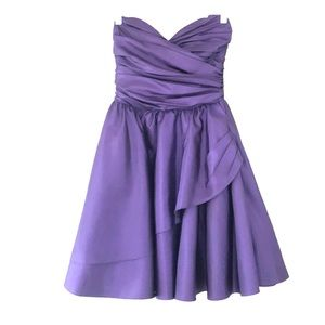 Betsey Johnson Strapless Party Dress